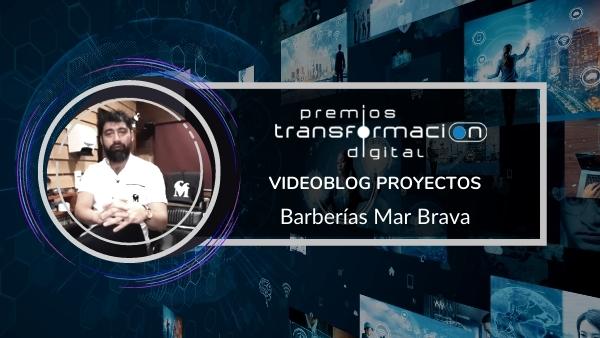 Portada Videoblog proyecto transformación digital Mar Brava Barberías